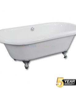 Clawfoot Soaking Acrylic Bathtub Price in India