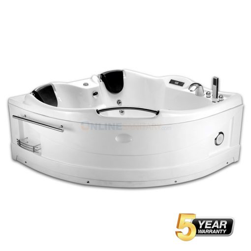 Evelina Corner Whirlpool Jacuzzi Bathtub Price in India