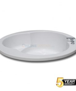 Iva Round soaking Bathtub at best in India