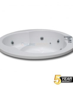Iva Round Jacuzzi Bathtub at Best Price in India