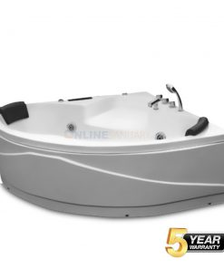 Ulrich Corner Jacuzzi Bathtub Price in India